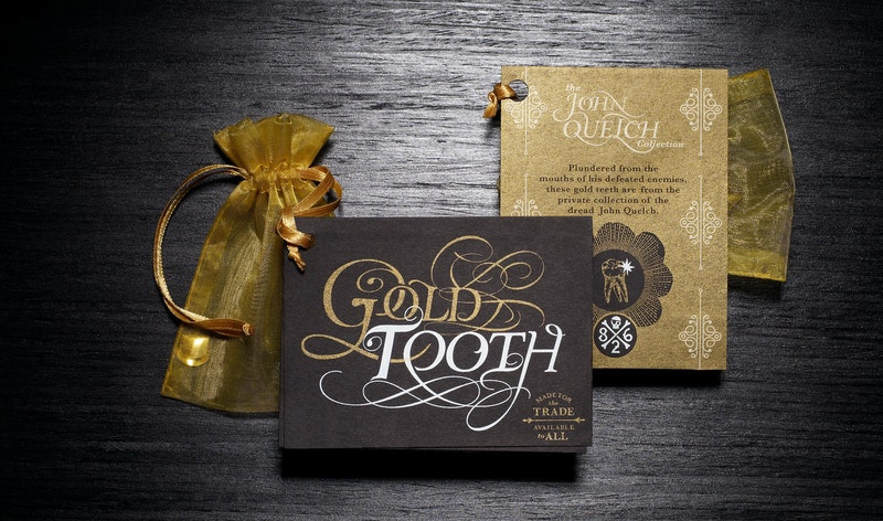 Office 826 Valencia Products - Gold Tooth